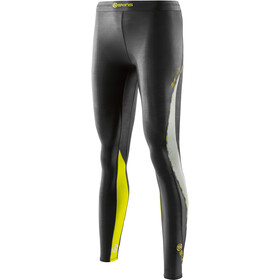 Skins W's DNAmic Long Tights Black/Limoncello